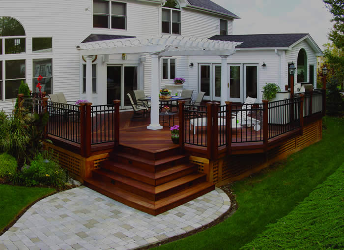 Wood Deck Example From Miami Deck Builders