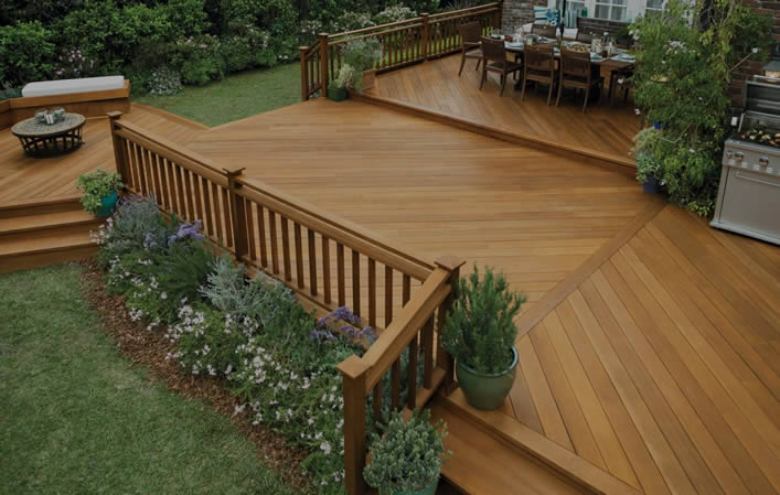 Wood Deck Example
