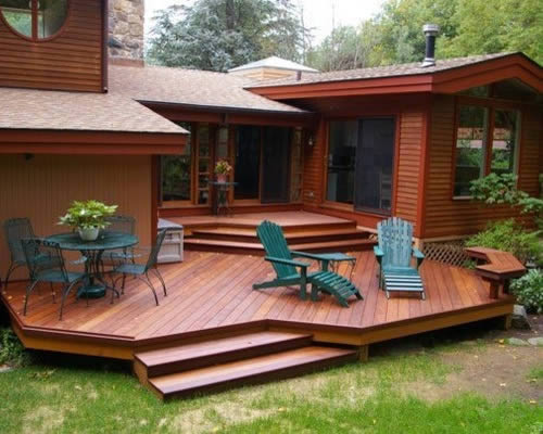 Custom Deck Design in Key Largo FL